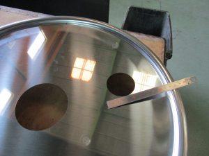 ステンレス ドラム缶フタ